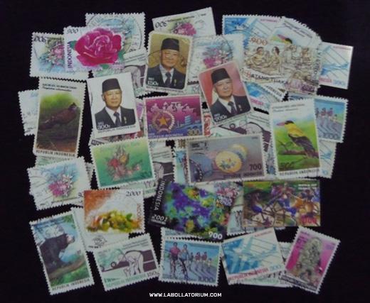 Koleksi Perangko - Blast From The Past - Postal Stuffs