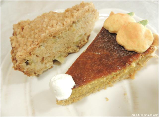 Tarta de Calabaza Y Bizcocho de Manzana