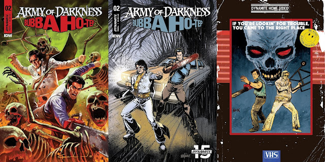 Army of Darkness/Bubba Ho-Tep: le cover del numero 2