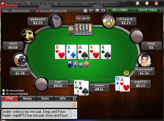 Real time poker solver