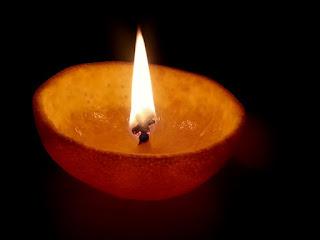 3.Citrus candles