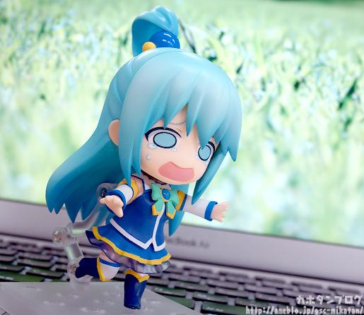 Nendoroid Aqua cried