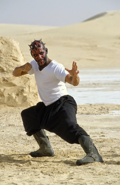 darth maul out of costume