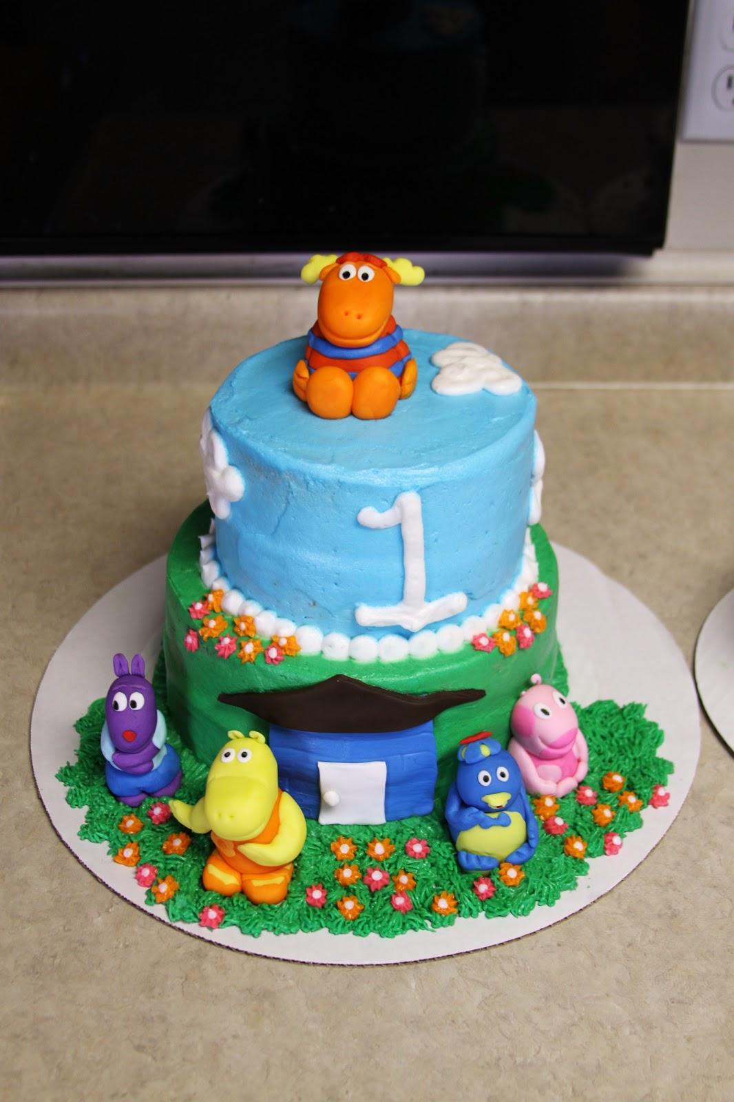 Michele Robinson Cakes Backyardigans Cake