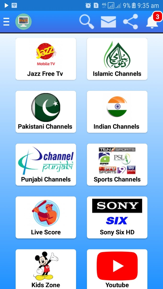 [Crazy Tv]How to Watch Live sports & Entertainment Channels on Android Mobile