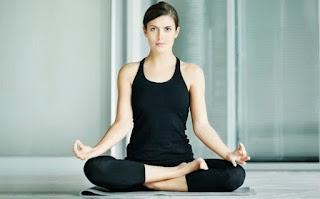 Seated-Yoga Pose