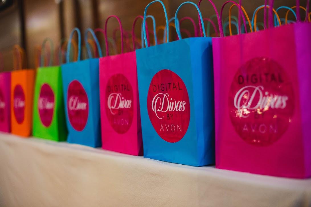 Digital Divas by Avon goodie bag