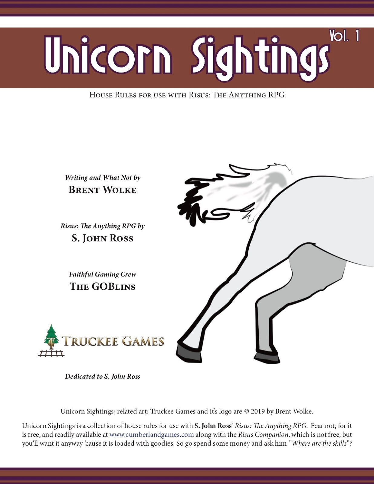 Unicorn Sightings