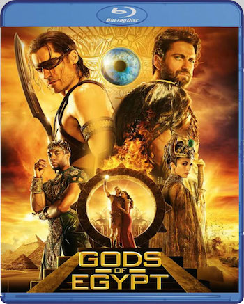 Poster of Gods of Egypt 2016 BRRip 480p 400MB Dual Audio Watch Online Free Download Worldfree4u