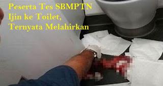 Astaghfirullah... Baru Lulus SMA, Remaja ini Melahirkan di Toilet Saat Ikut Tes SBMPTN