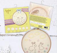 Logo Anchor Crafts : vinci gratis kit da ricamo collezione ''Bunny''