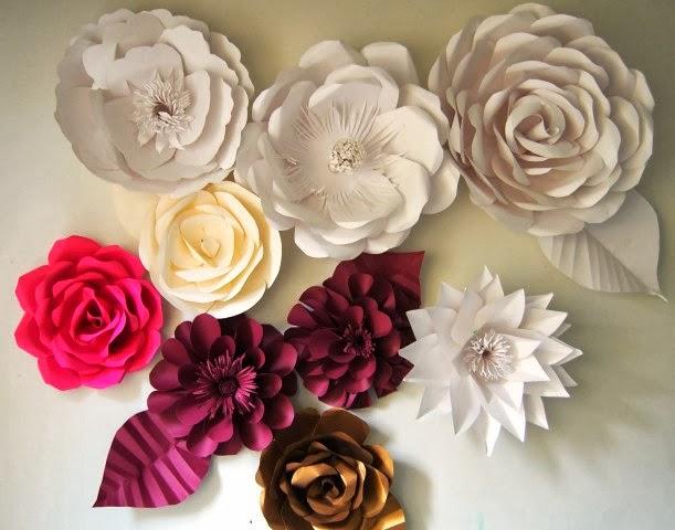 Cara Membuat Bunga Mawar Cantik Dari Kertas   Aneka