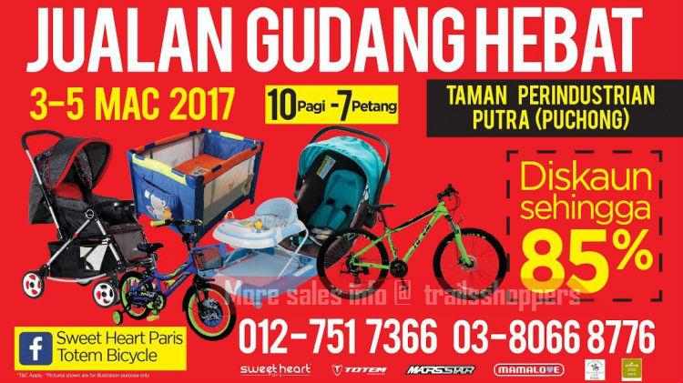 Wah Ha Sweet Heart Totem Jualan Gudang Hebat 2017
