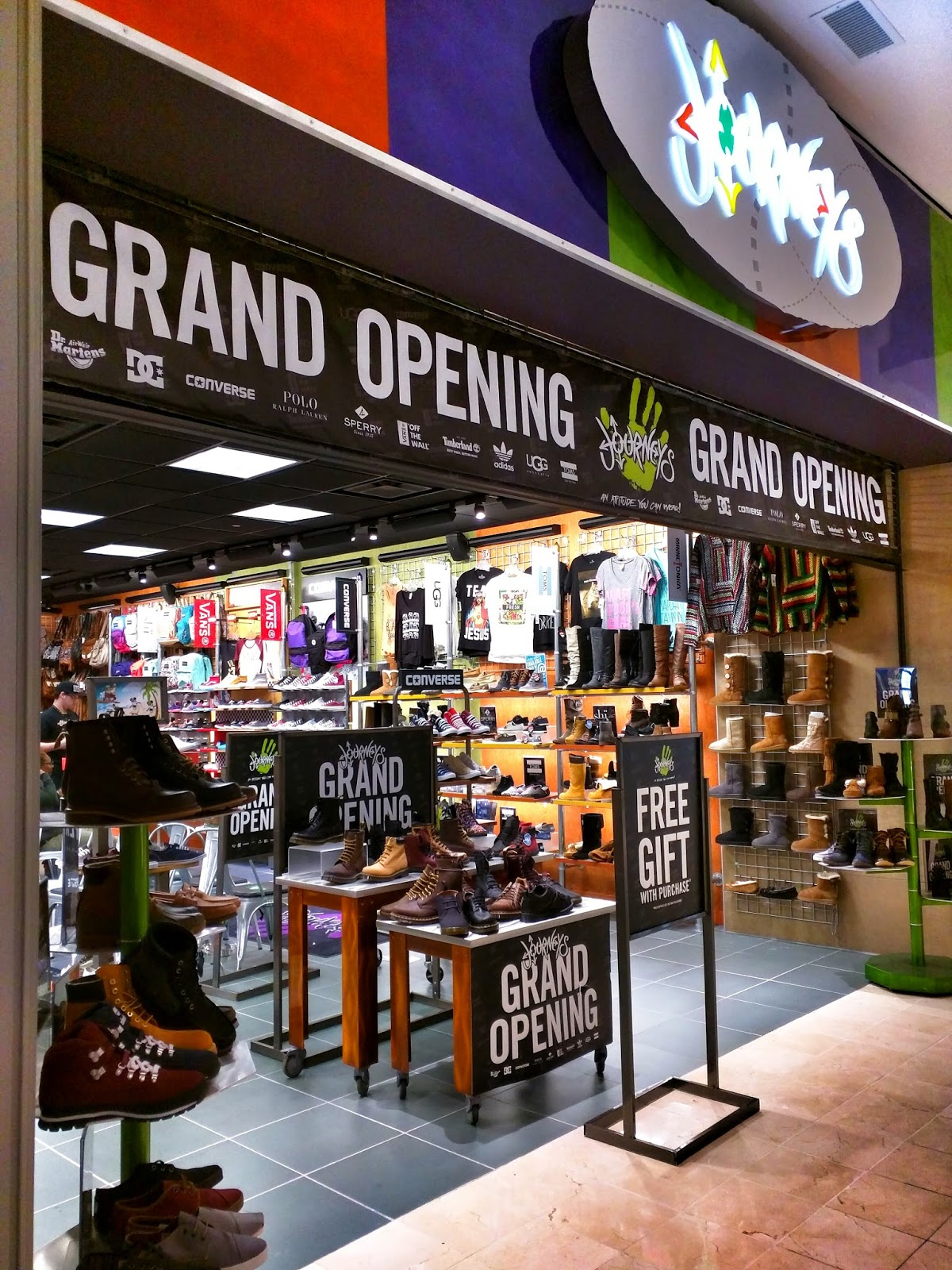 a997561037a Journeys has opened in its new location at Westfield Montgomery Mall