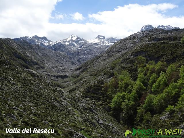 Ruta al Cantu Ceñal: Valle del Resecu
