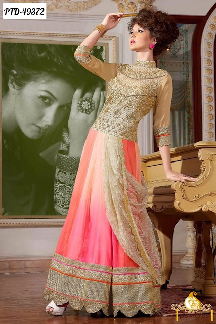 Fashionable Party Wear Bridal Salwar Kameez Suits with Price