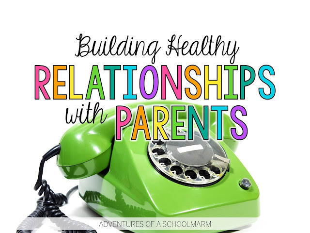 Building quality relationships with parents can be hard. We can have great relationships with 99% of our students' families, but it takes just one difficult parent to leave us feeling like failures. This post is full of real, actionable strategies to help teachers when they are facing challenges with parent communication.