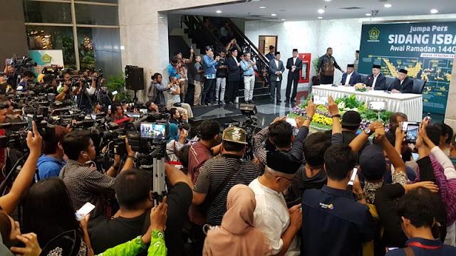 Pemerintah Tetapkan 1 Ramadhan Jatuh Tanggal 6 Mei 2019