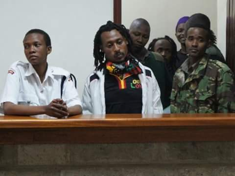 A Kenyan man arrested for possession of marijuana demands his charges be read in 'Rastafarian' language