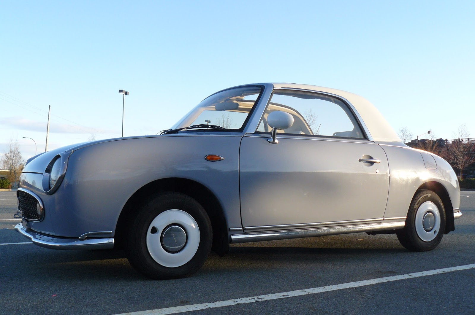 This Cute Nissan Figaro Is A Japanese Unicorn   Carscoops