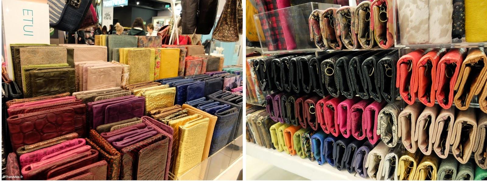 Maroquinerie Topshop Londres portefeuilles toutes les couleurs porte-monnaies