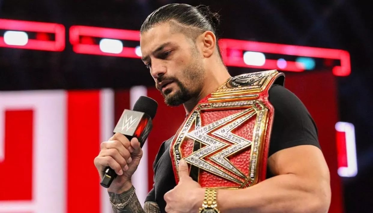 Roman Reigns WWE Universal Championship To Fight Leukemia