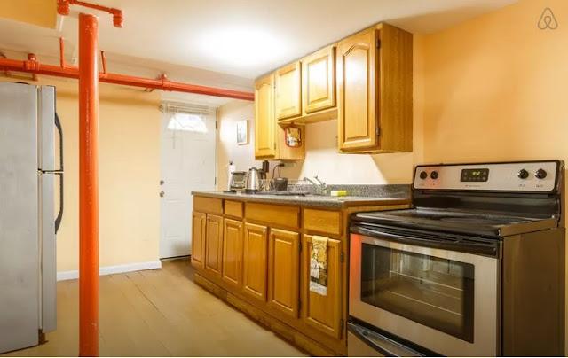Air BnB Goodwin Place Bushwick Kitchen