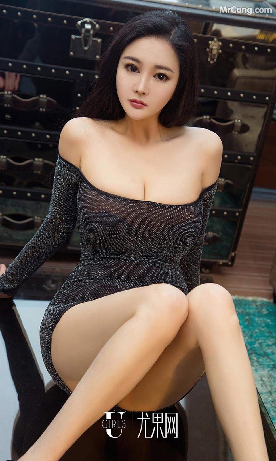 UGIRLS – Ai You Wu App No.1105: Người mẫu Shi Ying (诗盈) (35 ảnh)
