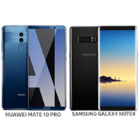 Huawei Mate 10 Pro ve Galaxy Note 8