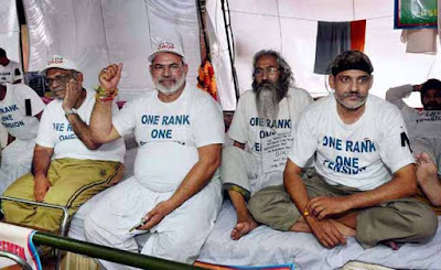 One Rank One Pension, orop-protest, strike over OROP, OROP
