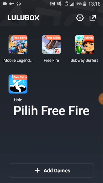 Tutorial Membuka Skin/Set Bundle Free Fire dengan Lulubox 5