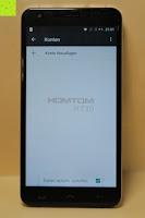 "Daten automatisch synchronisieren: HOMTOM HT30 3G Smartphone 5.5""Android 6.0 MT6580 Quad Core 1.3GHz Mobile Phone 1GB RAM 8GB ROM Smart Gestures Wake Gestures Dual SIM OTA GPS WIFI,Weiß"