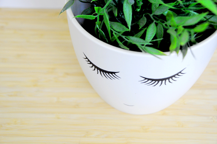 Face Plant Pot Part - 22: Download Link For Shy-Face Printable (Large U2013 Resize It To The Plant Pot Of  Your ...
