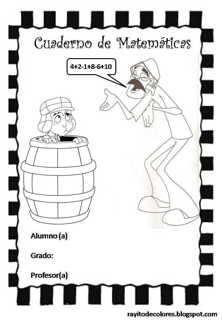 Cuaderno de matematicas del 1 al 6 grado santillana
