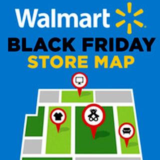 Walmart Black Friday Store Map