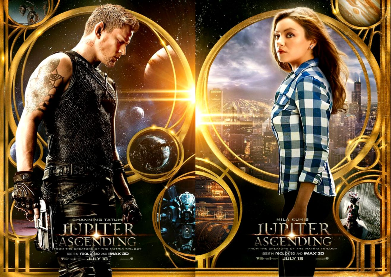 A new Jupiter Ascending trailer for you Geek Crusade