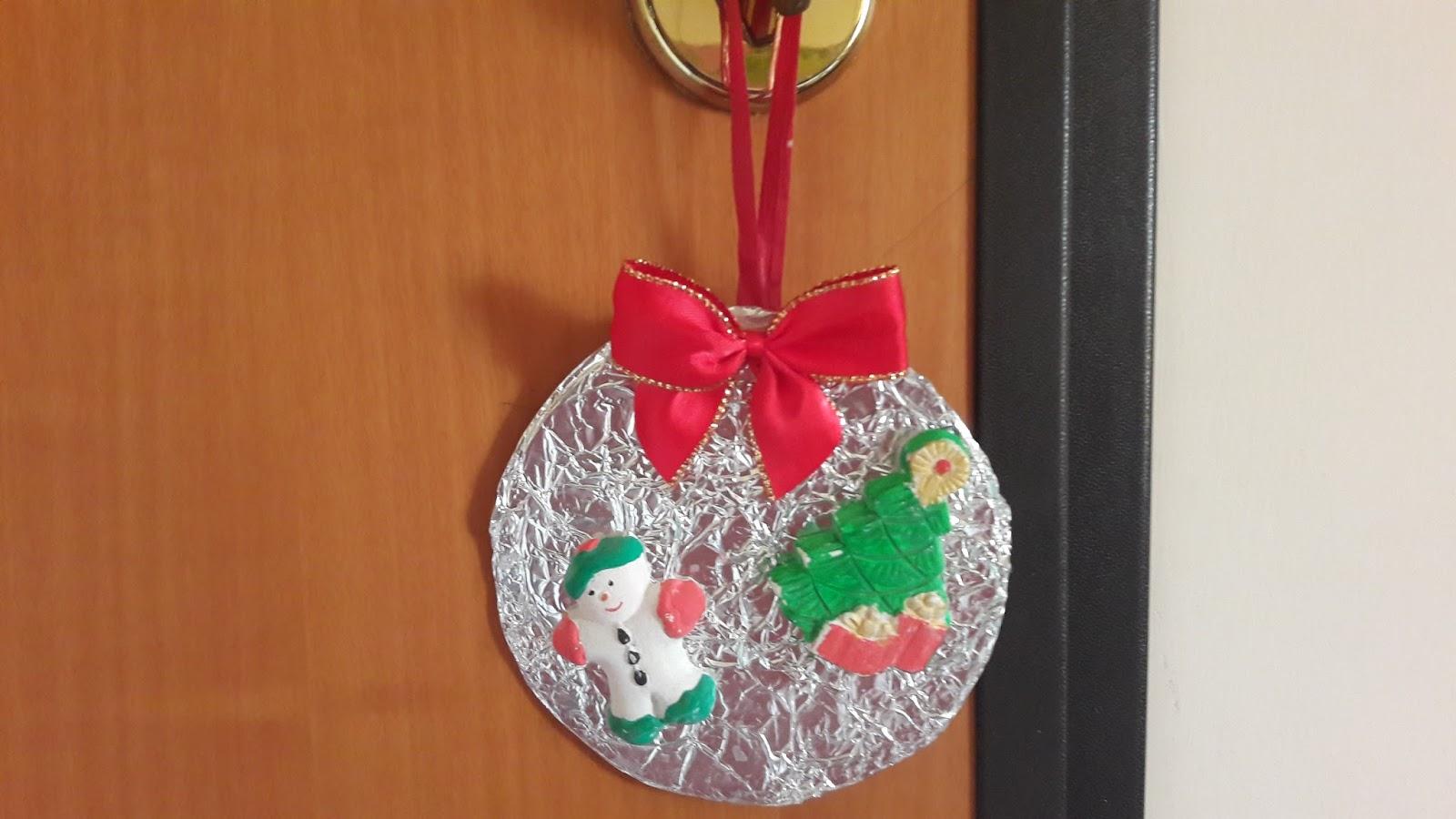 Mamme come me lavoretti di natale decorazione natalizia for Lavoretti di natale 2017