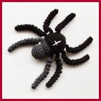 Peligrosa araña amigurumi