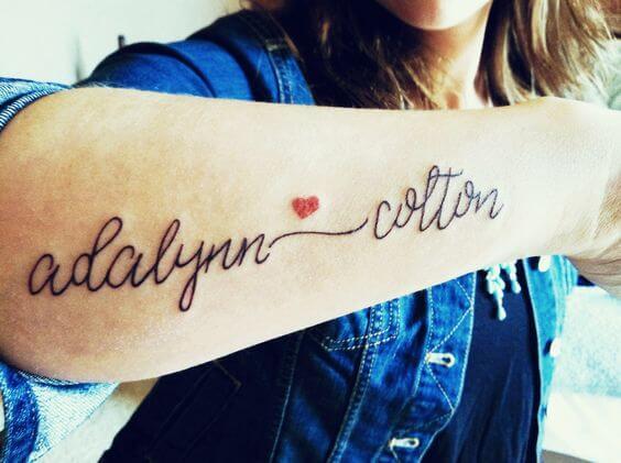 beautiful tattoo fonts