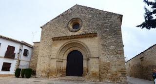 Baeza, Iglesia de la Santa Cruz.