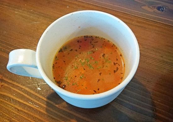 オアシス食堂 セットに付いてたスープの写真