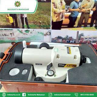 Jual Automatic Level Nikon AX2S Baru di Makassar