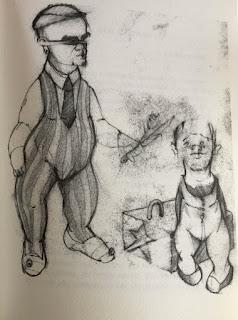 ilustración del bestiario del circo