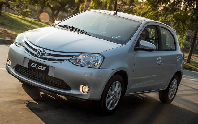 Toyota Etios 1.5 Automático - consumo