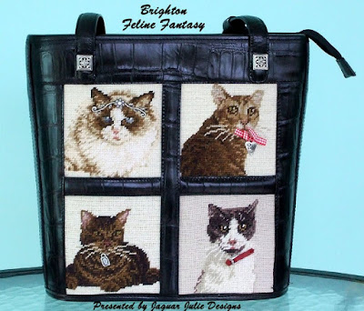 brighton feline fantasy cat tote