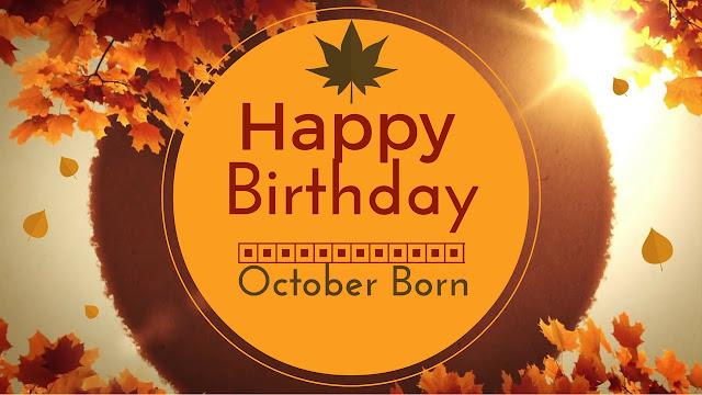 happy birthday in october