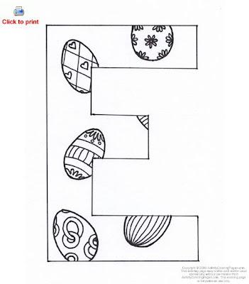 letter e coloring page. printable alphabet letter e coloring page ...