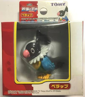 Chatot Pokemon figure Tomy Monster Collection AG series