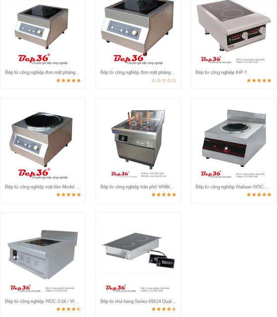 Các loại bếp từ công nghiệp phổ biến hiện nay