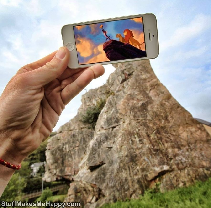 IPhone And Imagination Unusual Photos With Augmented Reality